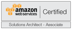 Click to see Diganta Kumar's AWS Solution Architect certificate